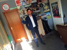 Tom Wolf in seinem Büro (Foto: © 2017 Wolfgang Weßling)